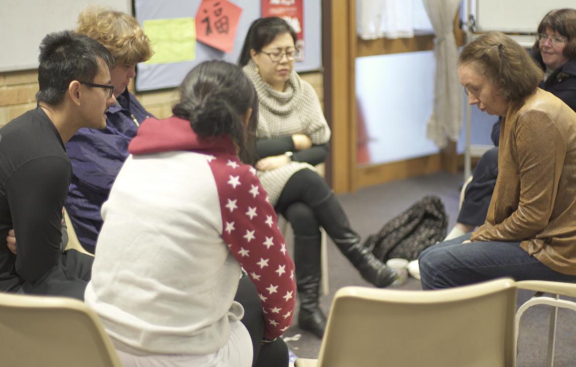 Jesus Club Thornleigh leaders at orientation meeting