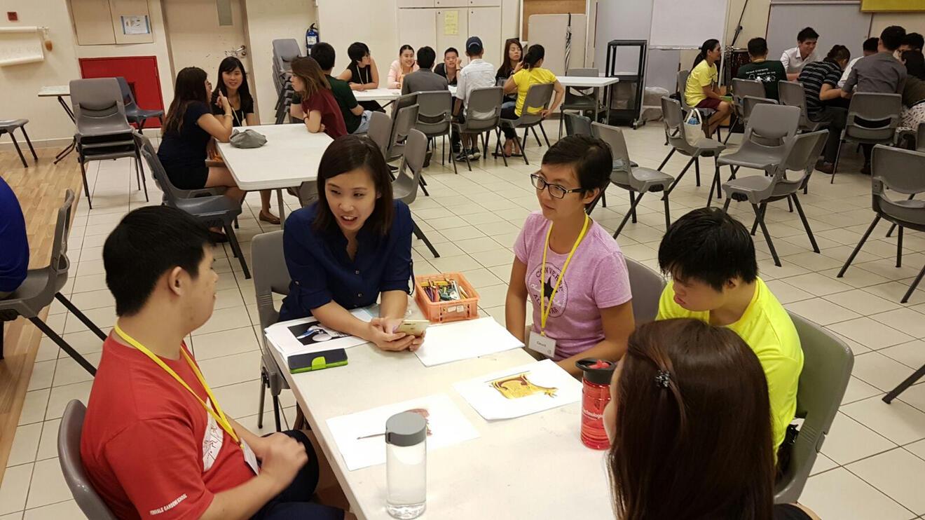 Jesus Club Singapore in buddy groups